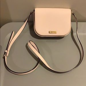 Cream Kate spade purse